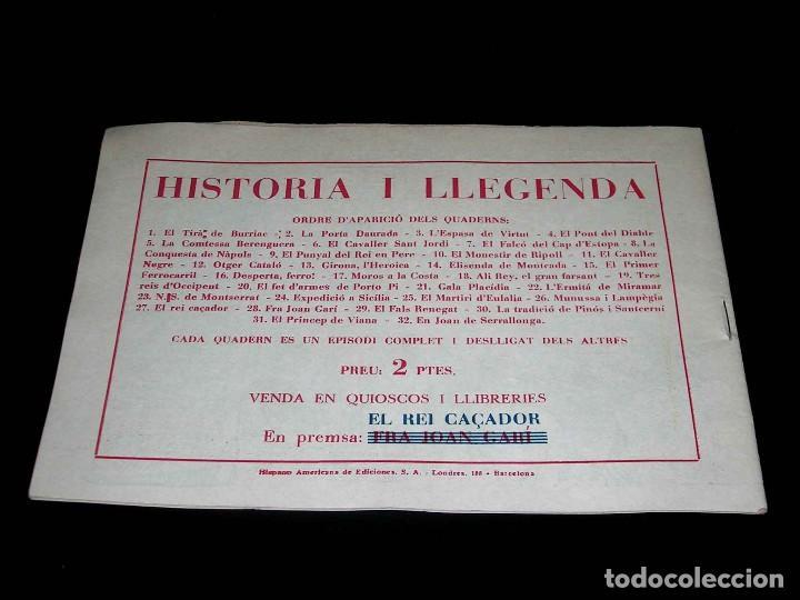 Tebeos: Colección completa 28 tebeos Historia i Llegenda, Hispano Americana en Catalán, original años 50. - Foto 55 - 113629519