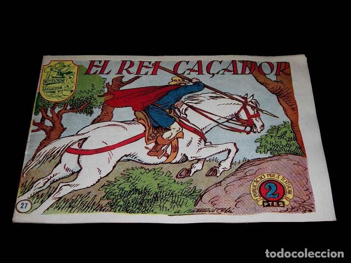 Tebeos: Colección completa 28 tebeos Historia i Llegenda, Hispano Americana en Catalán, original años 50. - Foto 56 - 113629519