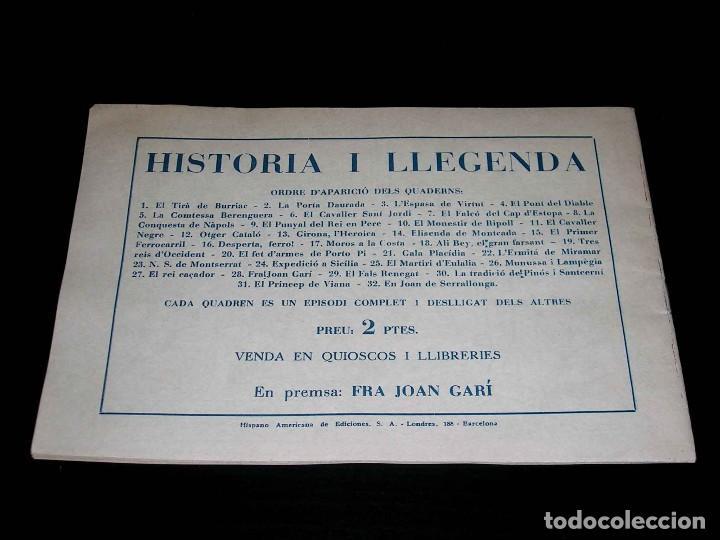 Tebeos: Colección completa 28 tebeos Historia i Llegenda, Hispano Americana en Catalán, original años 50. - Foto 57 - 113629519