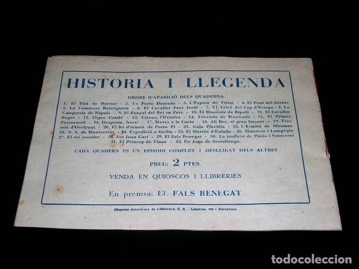 Tebeos: Colección completa 28 tebeos Historia i Llegenda, Hispano Americana en Catalán, original años 50. - Foto 59 - 113629519