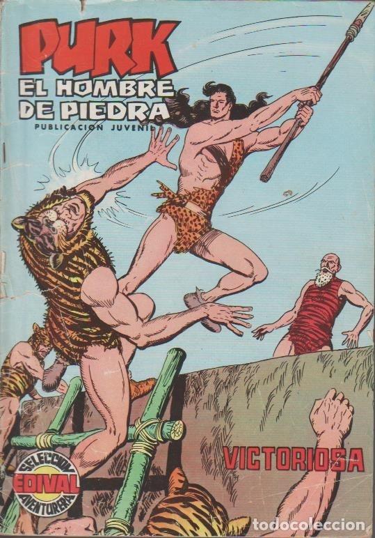 Tebeos: PURK EL HOMBRE DE PIEDRA ( VALENCIANA ) ORIGINAL 1974-1976 LOTE - Foto 11 - 35959461