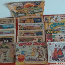 Tebeos: TEBEOS VARIOS EDITORES CAPITÁN TRUENO (VER FOTOS) LOTE DE 16. Lote 114399971