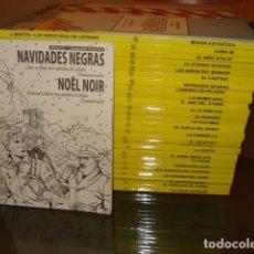 Tebeos: LEFRANC, 2011, COLECCIÓN COMPLETA, 26 TOMOS MÁS EXTRA, NETCOM2 + COEDITUM, IMPECABLES. Lote 114411107