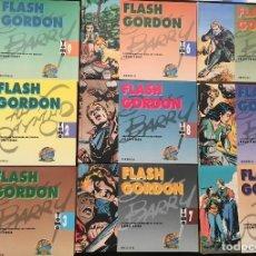 Tebeos: FLASH GORDON EDICION HISTORICA ¡¡ COMPLETA 9 TOMOS !! EDICIONES B. Lote 114467727