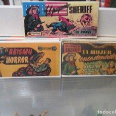Tebeos: LOTE DEL 1 AL 24 EL PEQUEÑO SHERIFF HISPANO AMERICANA REEDICION. Lote 114912451