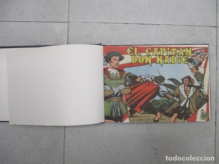 COLECCION COMPLETA EL CAPITAN DON NADIE 19 EJEMPLARES TOMO DE LUJO REEDICION (Tebeos y Comics - Tebeos Colecciones y Lotes Avanzados)