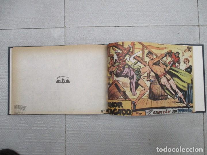 Tebeos: COLECCION COMPLETA EL CAPITAN DON NADIE 19 EJEMPLARES TOMO DE LUJO REEDICION - Foto 2 - 114913035