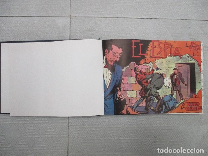COLECCION COMPLETA EL ESPIA 25 EJEMPLARES TOMO DE LUJO REEDICION (Tebeos y Comics - Tebeos Colecciones y Lotes Avanzados)