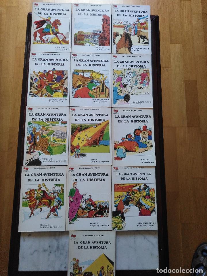 LA GRAN AVENTURA DE LA HISTORIA TP. 20 NUMEROS. (Tebeos y Comics - Tebeos Pequeños Lotes de Conjunto)