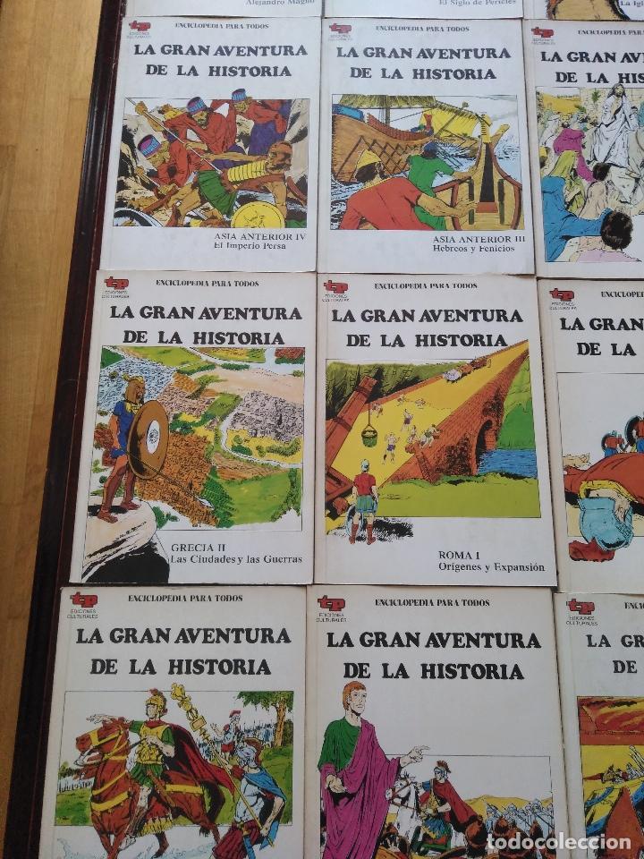 Tebeos: LA GRAN AVENTURA DE LA HISTORIA TP. 20 NUMEROS. - Foto 3 - 115388655