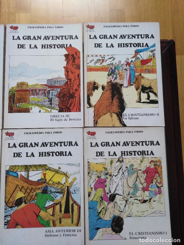 Tebeos: LA GRAN AVENTURA DE LA HISTORIA TP. 20 NUMEROS. - Foto 4 - 115388655