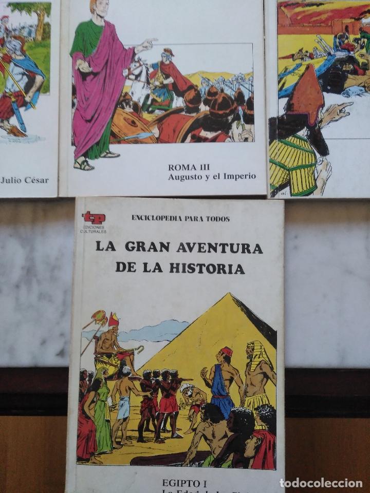 Tebeos: LA GRAN AVENTURA DE LA HISTORIA TP. 20 NUMEROS. - Foto 5 - 115388655