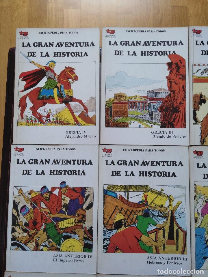 Tebeos: LA GRAN AVENTURA DE LA HISTORIA TP. 20 NUMEROS. - Foto 6 - 115388655
