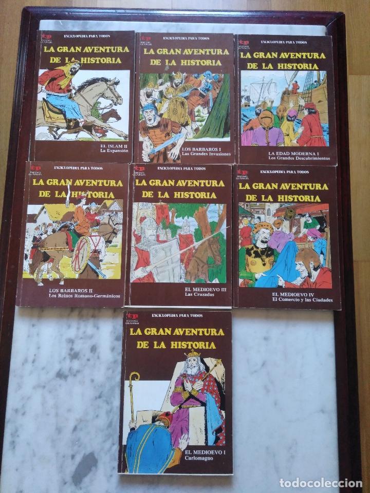 Tebeos: LA GRAN AVENTURA DE LA HISTORIA TP. 20 NUMEROS. - Foto 7 - 115388655