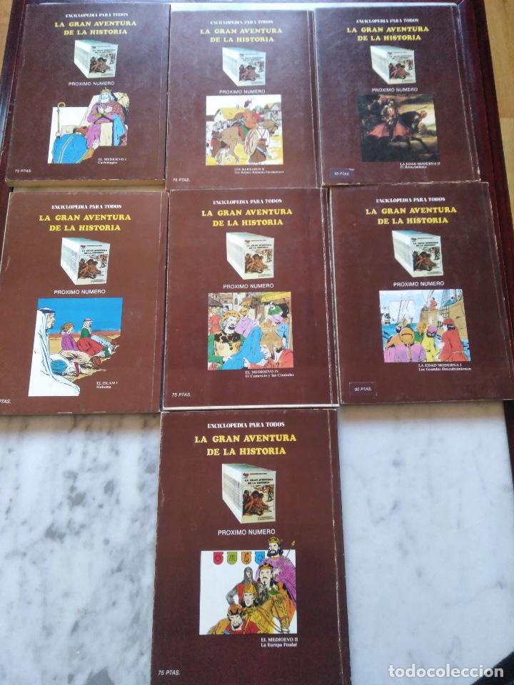 Tebeos: LA GRAN AVENTURA DE LA HISTORIA TP. 20 NUMEROS. - Foto 8 - 115388655
