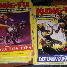 Tebeos: KUNG-FU, LAS AVENTURAS DE LOS INVENCIBLES, 12 NUMEROS , MUY BUEN ESTADO. Lote 141596464