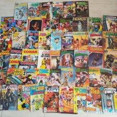 Tebeos: GRAN LOTE COMIC 54 COMICS VERTICE MARVEL FORUM CONAN BATMAN LOS VENGADORES SUPERMAN THOR. Lote 117290747