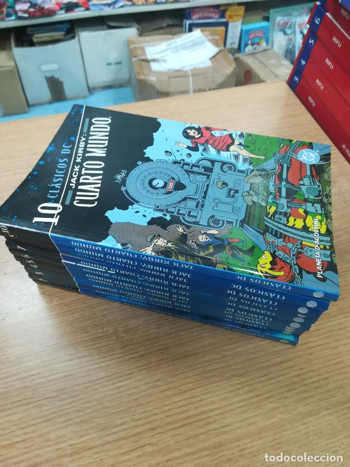 CUARTO MUNDO DE JACK KIRBY (CLASICOS DC) COLECCION COMPLETA (10 TOMOS) (Tebeos y Comics - Tebeos Colecciones y Lotes Avanzados)