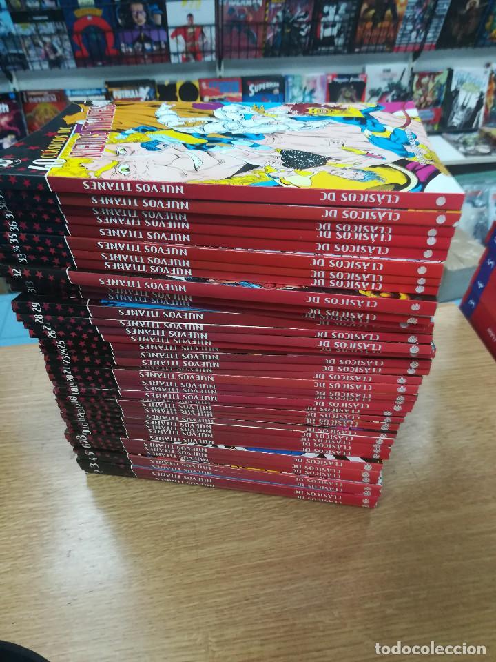 NUEVOS TITANES (CLASICOS DC) COLECCION COMPLETA (40 TOMOS) (Tebeos y Comics - Tebeos Colecciones y Lotes Avanzados)