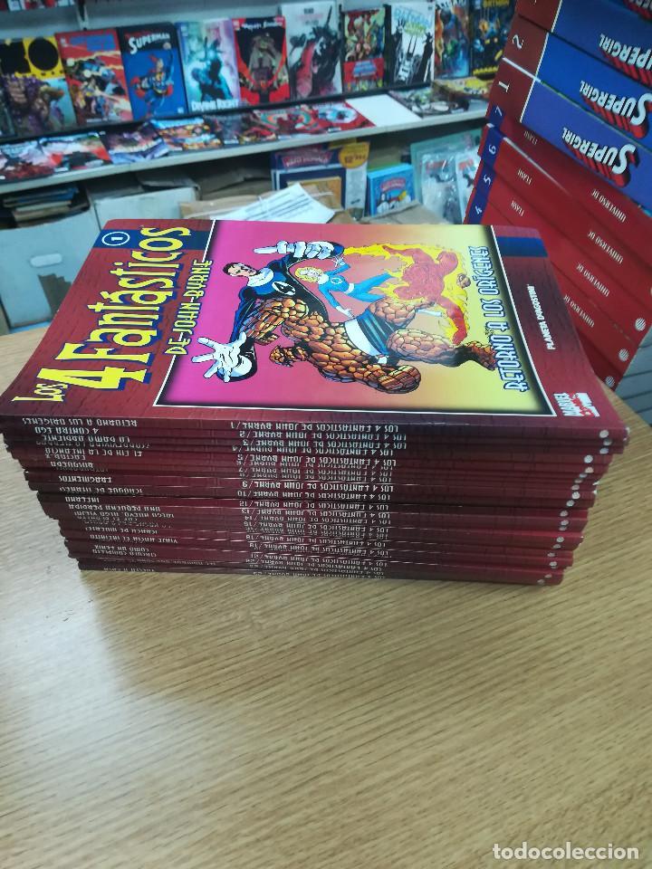 4 FANTASTICOS DE JOHN BYRNE COLECCIONABLE COLECCION COMPLETA (25 TOMOS) (Tebeos y Comics - Tebeos Colecciones y Lotes Avanzados)