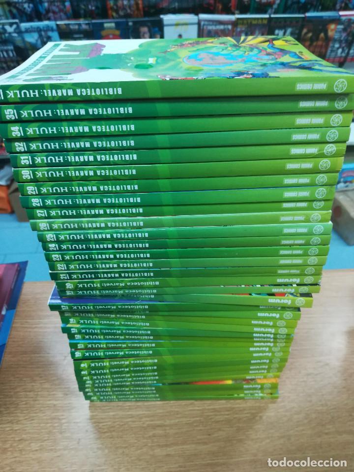 BIBLIOTECA MARVEL HULK COLECCION COMPLETA (36 TOMOS) (Tebeos y Comics - Tebeos Colecciones y Lotes Avanzados)
