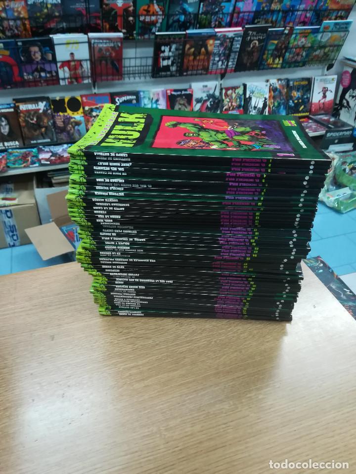 HULK COLECCIONABLE COLECCION COMPLETA (50 TOMOS) (Tebeos y Comics - Tebeos Colecciones y Lotes Avanzados)