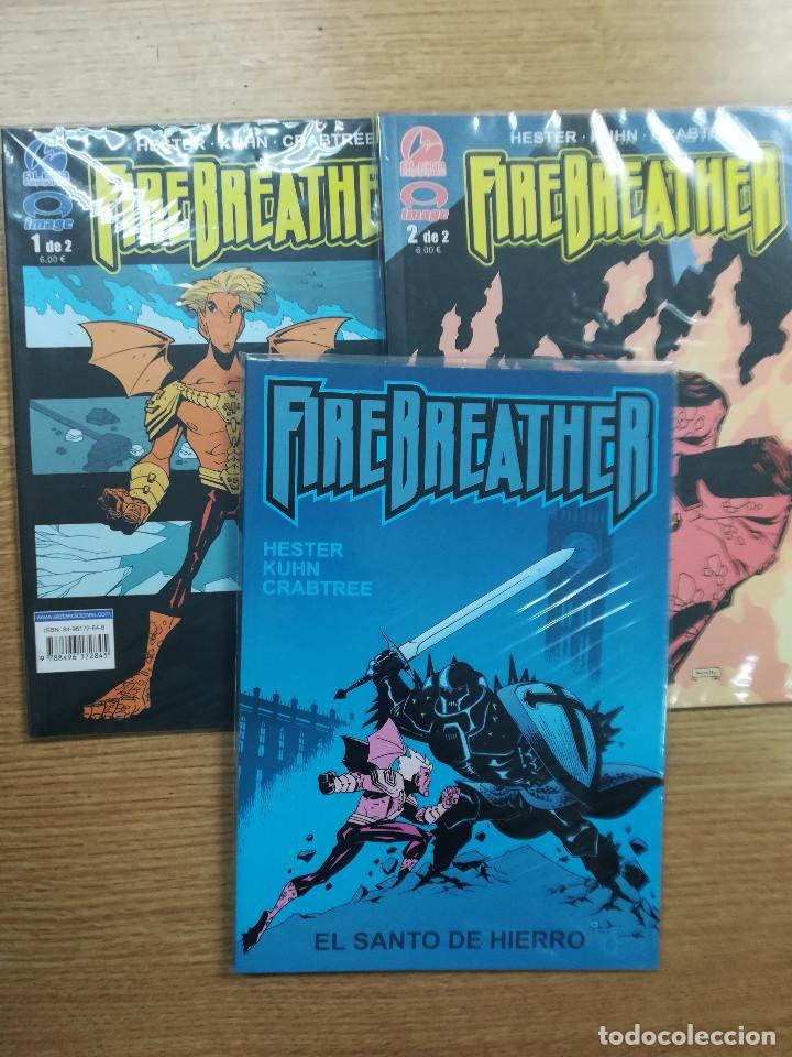 FIREBREATHER COLECCION COMPLETA (3 TOMOS) (Tebeos y Comics - Tebeos Colecciones y Lotes Avanzados)