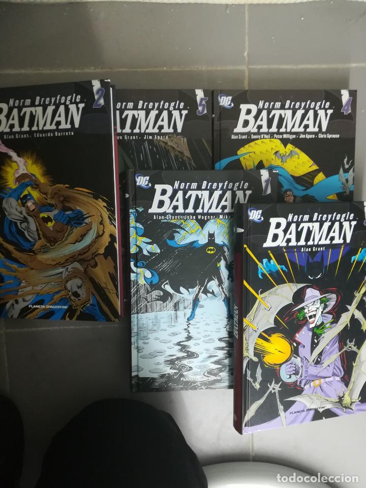 BATMAN DE NORM BREYFOGLE COLECCION COMPLETA (5 TOMOS) (Tebeos y Comics - Tebeos Colecciones y Lotes Avanzados)