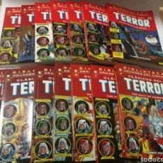 Tebeos: COLECCIÓN BIBLIOTECA GRANDES DEL TERROR CASI COMPLETA. (14 DE 15). Lote 118216119