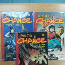 Tebeos: LEAVE IT TO CHANCE COLECCION COMPLETA (3 TOMOS). Lote 118216847