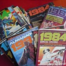 Tebeos: 1984 NºS 1 AL 64 + 4 ALMANAQUES + 2 ESPECIALES ¡COMPLETA! ¡BUEN ESTADO! FANTASIA CIENCIA FICCION. Lote 119169287