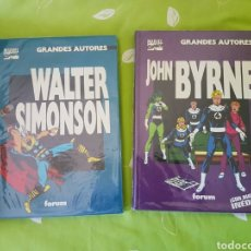 Tebeos: GRANDES AUTORES MARVEL JOHN BYRNE Y WALTER SIMONS. Lote 119198759