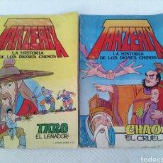 Tebeos: LOTE 2 COMIC TARZERIX N°1 Y N°2.AÑO 1978. Lote 119296758