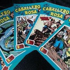 Tebeos: EL CABALLERO DE LA ROSA EDICCION FACSIMIL LOTE DE 5 NUMEROS. Lote 119461431