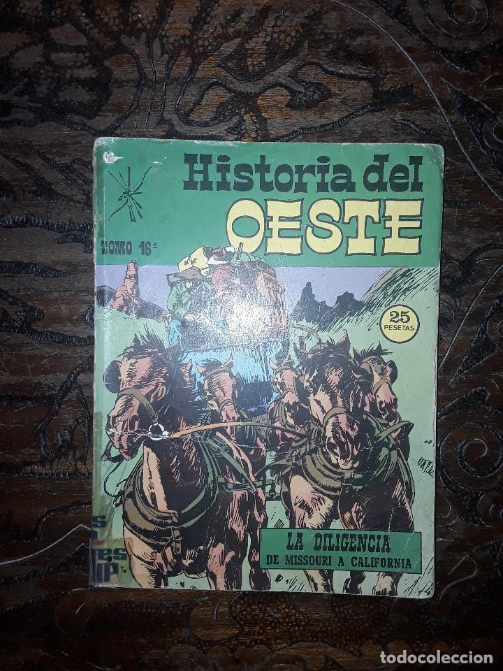 HISTORIA DEL OESTE Nº 16 EDITORIAL EUREDIT-96 PGS COMPLETO (Tebeos y Comics - Tebeos Colecciones y Lotes Avanzados)