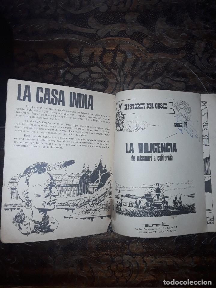 Tebeos: HISTORIA DEL OESTE Nº 16 EDITORIAL EUREDIT-96 PGS COMPLETO - Foto 4 - 119713039