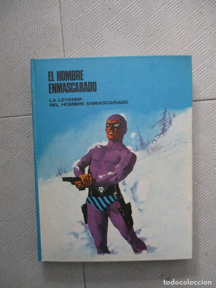 COLECCION COMPLETA EL HOMBRE ENMASCARADO 8 TOMOS BURU LAN BUEN ESTADO (Tebeos y Comics - Tebeos Colecciones y Lotes Avanzados)