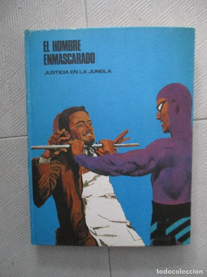 Tebeos: COLECCION COMPLETA EL HOMBRE ENMASCARADO 8 TOMOS BURU LAN BUEN ESTADO - Foto 3 - 120231787