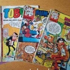 Tebeos - Lote 3 comics tebeos antiguos garibolo toby - 97254507