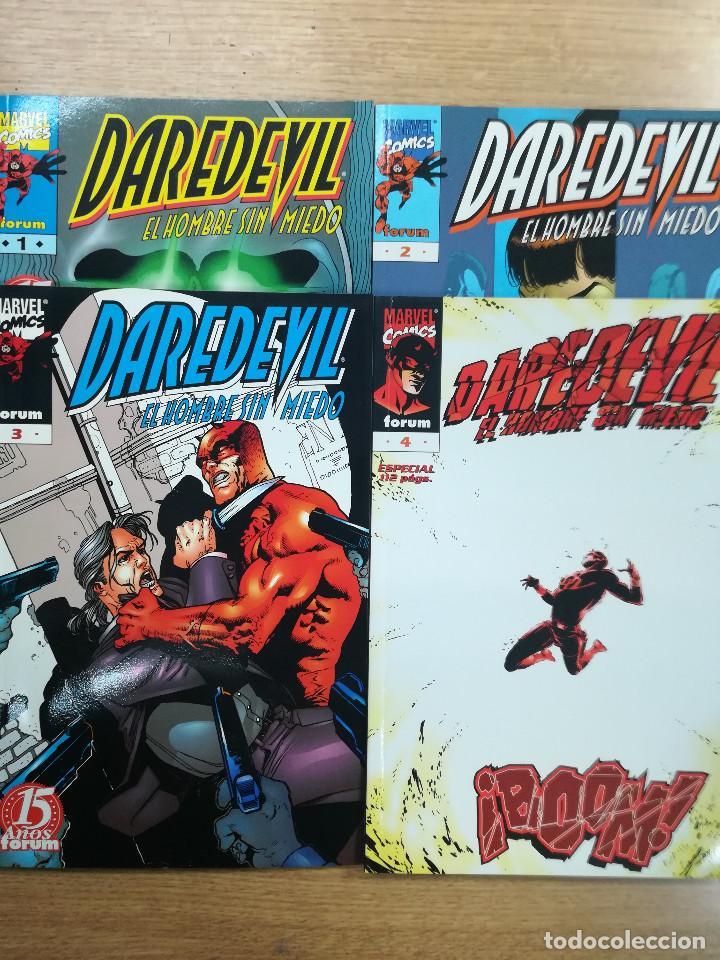 DAREDEVIL VOLUMEN 3 COLECCION COMPLETA (4 TOMOS) (Tebeos y Comics - Tebeos Pequeños Lotes de Conjunto)