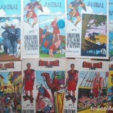 Tebeos: ANIBAL+BEN HUR, COLECCION GALAOR ORIGINAL,CASI COMPLETAS (8+9 EJEMPLARES) MUY BUENOS. Lote 121297779
