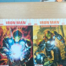 Tebeos: ULTIMATE IRON MAN ARMOR WARS COLECCION COMPLETA (2 NUMEROS). Lote 121517035