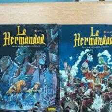 Tebeos: LA HERMANDAD COLECCION COMPLETA (2 TOMOS). Lote 121632051