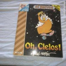 Tebeos: OH, CIELOS! - J.L. MARTÍN - EDITORIAL EL JUEVES - PENDONES DEL HUMOR Nº6. Lote 121733471