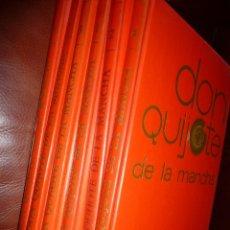 Tebeos: DON QUIJOTE DE LA MANCHA. 1972, 6 VOL EDIT. NARANCO, BUENA CONSERVACION.. Lote 121736263
