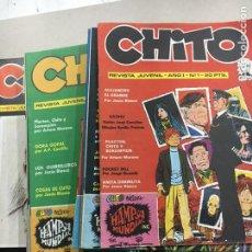 Tebeos: REVISTA CHITO COMPLETA Y TODOS LOS EXTRAS. Lote 121758170