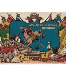 Tebeos: D'ARTAGNAN Y LOS TRES MOSQUETEROS AÑO 1955 LOTE DE 6 TEBEOS SON ORIGINALES DIBUJANTE BEAUMONT FERMA. Lote 121951223