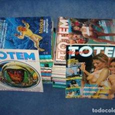 Tebeos: TOTEM, 1977, COLECCIÓN COMPLETA, 73 NÚMEROS, MUY BUEN ESTADO. Lote 122208091