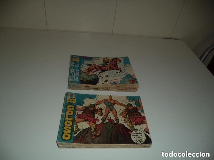 EL COLOSO, AÑO 1.960. COLECCIÓN COMPLETA SON 83. TEBEOS ORIGINALES, DIBUJANTE L. BLANCO. (Tebeos y Comics - Tebeos Colecciones y Lotes Avanzados)