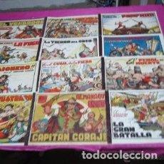 Tebeos: CAPITAN CORAJE 11 Nº COMPLETA EXCELENTE ESTADO TORAY AÑOS 40 DE MUSEO. Lote 122533271